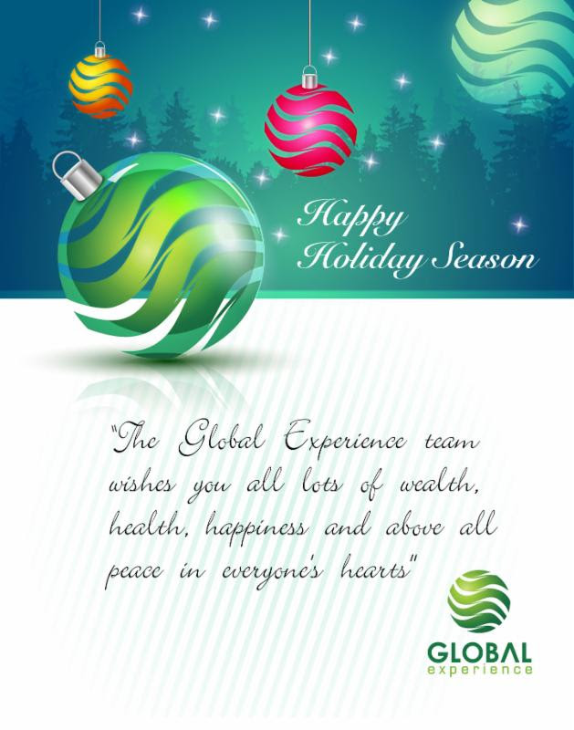 Happy Holidays from Global Experience